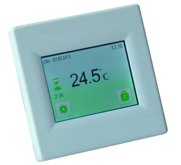 Fenix TFT - pokojový termostat s dotykovým dispejem
