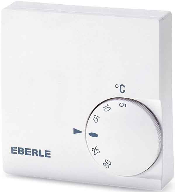 Eberle RTR-E 6121 - pokojový bimetalový termostat