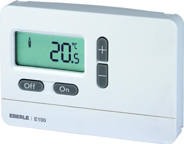 Digitální prostorový termostat Eberle E100