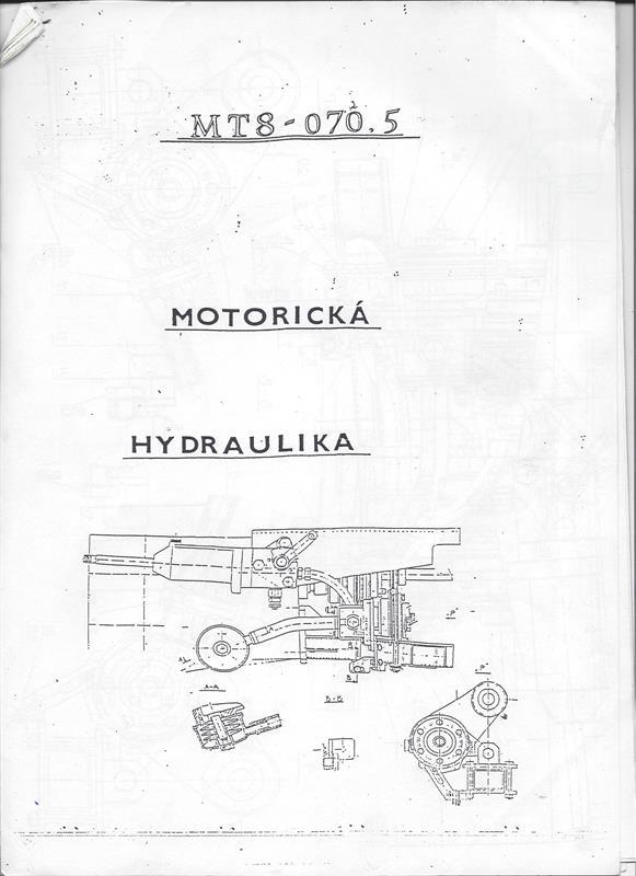 Katalog náhradních dílů MT8-070.5