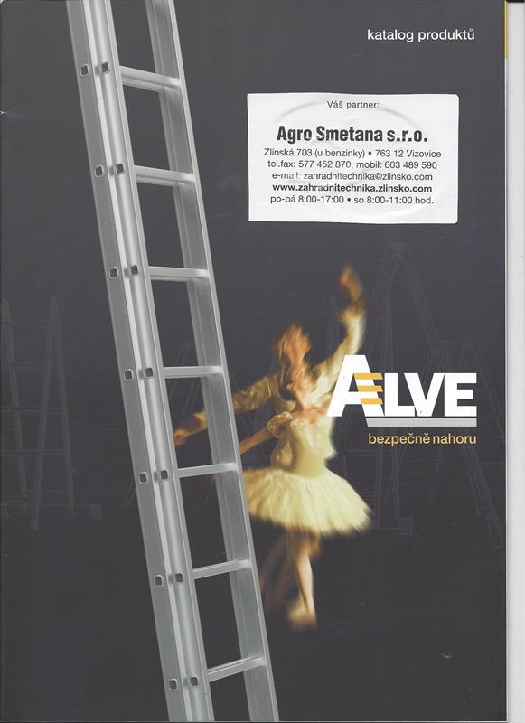 Katalog produktů ALVE