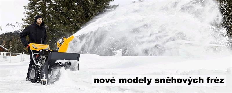 Sněhové frézy STIGA