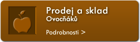 Prodej a sklad Ovock
