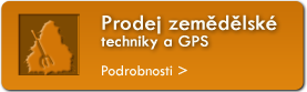 Prodej zemdlsk techniky a GPS