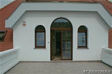 oblouková dřevěná okna AZ EKOTHERM