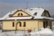 dřevěná okna AZ EKOTHERM - rodinný dům Šumperk