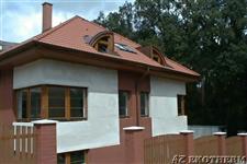 dřevěná eurookna - rodinný dům Hradec Králové