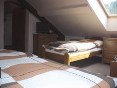 Chata Slunce - ložnice - Jeseníky