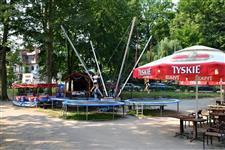 Park rozrywk a park linowy