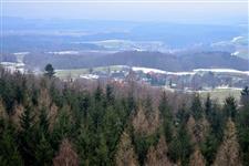 Výhled z 1. plošiny