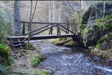 Lávky přes Janovský potok