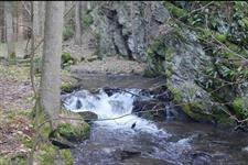 Potok pod skálou