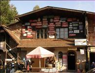 Budova s pokladnou a restaurací