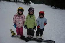 ...na lyžích