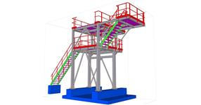 Expedition tower steel structure