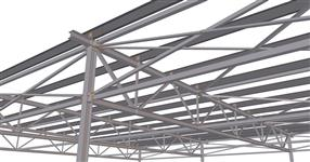 The shed steel structure