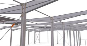steel structure of warehouse