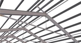 steel structure of factory building extension