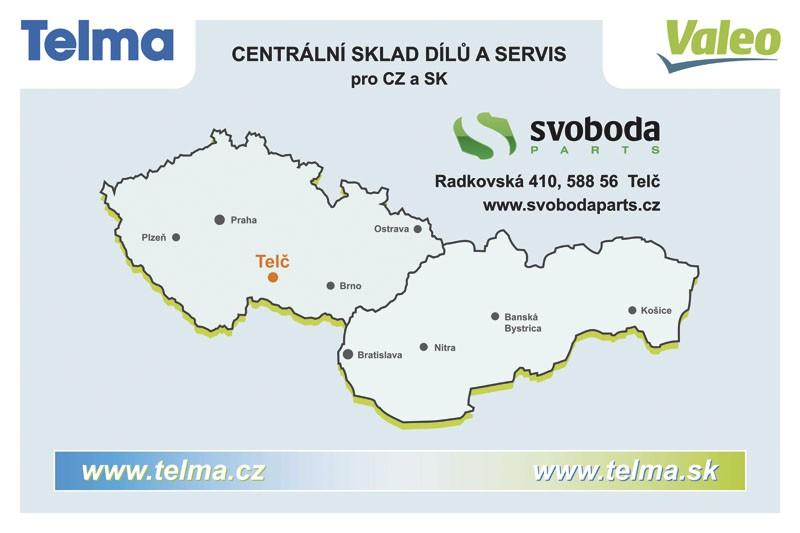 Mapa - TELMA