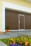 sekční vrata - dveře