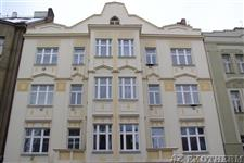 dřevěná eurookna - bytový dům Praha 5