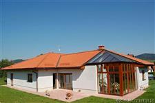 dřevěná okna a zimní zahrada AZ EKOTHERM - rodinný dům Šumperk