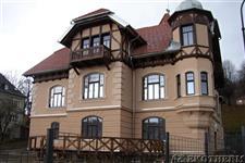 dřevěná eurookna - vila Jeseník
