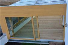 atika prosklené střechy AZ EKOTHERM