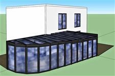 vizualizace zimní zahrady AZ EKOTHERM