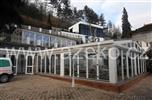 zimní  zahrada v hotelu Villa Milada Praha