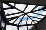 prosklená střecha zimní zahrady v Náchodě