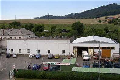 výrobní závod AZ EKOTHERM Šumperk