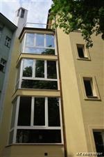 špaletová okna AZ EKOTHERM - Praha, ul. Americká