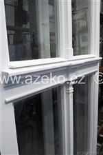 špaletová okna AZ EKOTHERM s ozdobnými prvky