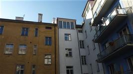 Ostromečská ulice pohled ze dvora