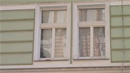 Detail historického okna AZ Ekotherm