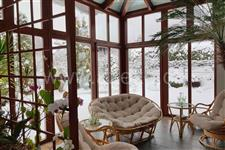 interiér celoročně uživatelné zimní zahrady AZ EKOTHERM