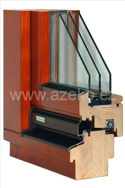 Dřevěné okno IV88