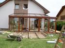 Zimní zahrady - postup montáže