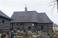 Dřevěný kostelík ve Slavoňově