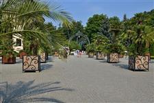 V lázeňském parku