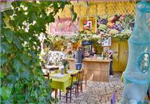 Restaurace v botanické zahradě