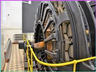 Elektromotor těžní klece