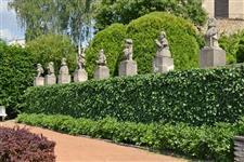 Sochy v zámecké zahradě