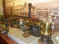 Parní strojky v muzeu hraček v Kudowě