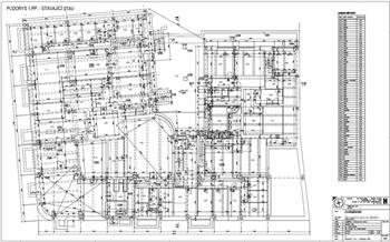 Zaměření stávající stavby