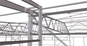 Ocelová konstrukce haly ECOS Vysoké Mýto