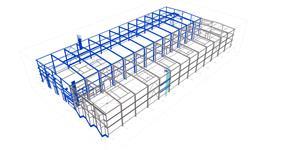 Ocelová konstrukce rozšíření výrobní haly Story Design Litomyšl