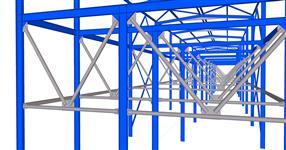 Rekonstrukce ocelové konstrukce zauhlovacích mostů
