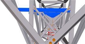 Ocelová konstrukce mostů pro pásové dopravníky